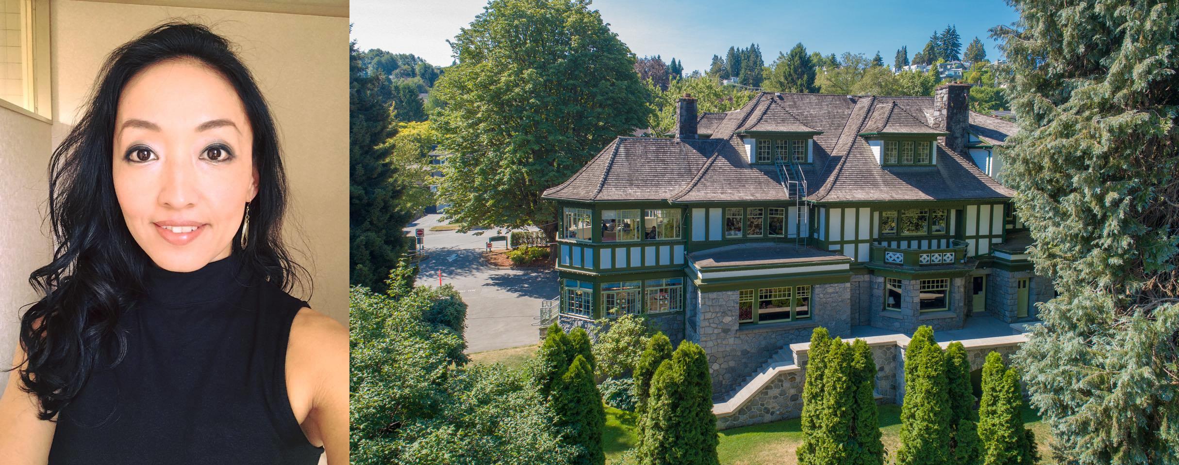 Ai Nakano and West Point Grey CC's Aberthau mansion