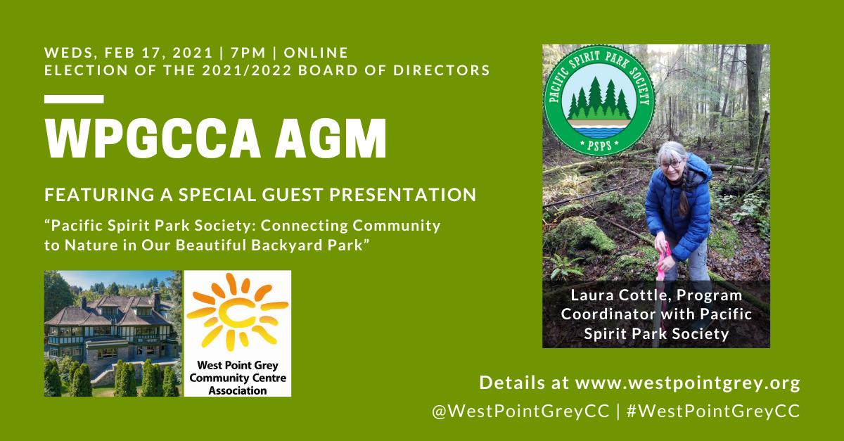 2021 WPGCCA AGM poster